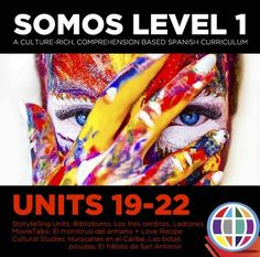 7 Best SOMOS Level 1 Spanish Curriculum Bundles images in