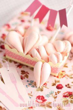 Raspberry Kisses mit Him(mmh!)beerganache,