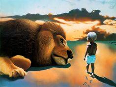 Μια εικόνα 1000 λέξεις: Πρώτα βήματα-Γεμάτα ελπίδα .Αθώα βήματα-Γεμάτα αγάπη. Ακόμη κ η άγρια φύση με θαυμασμό κοιτάζει!!!!!!!!!
