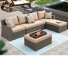 Costco Hampton Patio Deep Seating Sectional By Sirio
