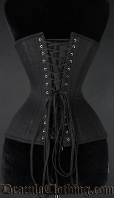 Extreme waist have the same boning in the back and front as normal underbusts, but are double boned in the side with 6 spiral metal bones in each side a totaal of 12 spiral metal bones, and they have extra space for hips Waist Cincher Corset, Underbust Corset, Tight Lacing Corset, Shapewear Best, Corset Pattern, Lace Tights, Waist Training Corset, Fashion Outfits, Emo Fashion
