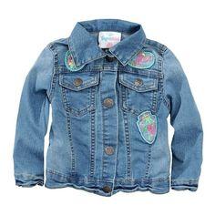 Diese süße Jeansjacke für Babys gibt es jetzt bei Ernsting's Family