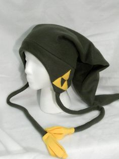 Legend of Zelda Link Fleece Hat MADE TO ORDER by Higginstuff