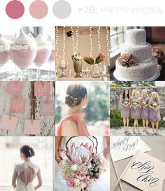inspiration board #76: pretty protea | b.loved weddings | UK Wedding Blog | Wedding Design & Styling
