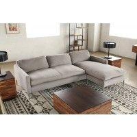 SF143: Sherbrooke Twill Pewter Sofa  (1)