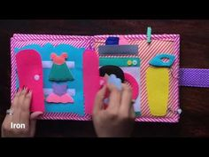 Me All Day - Doll House Quiet Book - Everyday Routine - YouTube