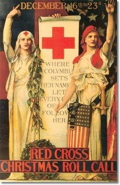 Posters World War Poster - 040 - Edwin Blashfield - 1918 - Red Cross ...