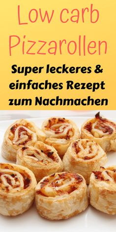 Low carb Pizza Rollen - Schnell und kinderleicht - Lebensheld eating recipes for dinner low carb Low Carb Pizzarolle [Perfekte Alternative]- Low Carb Held Low Carb Recipes, Diet Recipes, Healthy Recipes, Pizza Recipes, Smoothie Recipes, Dessert Recipes, Liw Carb Desserts, Cooker Recipes, Snacks Recipes