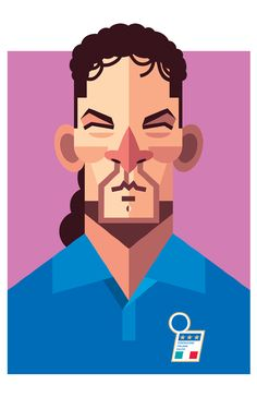 Famous Football Player Illustrations
