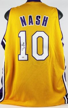 LAKERS STEVE NASH AUTHENTIC SIGNED JERSEY AUTOGRAPHED CERTIFICATE OF AUTHENTICITY PSA/DNA #S84440 by Press Pass Collectibles. $449.99. LAKERS STEVE NASH AUTHENTIC SIGNED JERSEY AUTOGRAPHED PSA/DNA #S84440