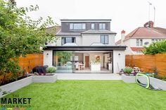 Stunning north london home extension and loft conversion modern houses by the market design & build modern 1930s House Extension, House Extension Plans, House Extension Design, Extension Designs, Roof Extension, House Design, Extension Ideas, Garden Room Extensions, House Extensions