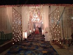 Picture from Kalvin International Photo Gallery on WedMeGood. Browse more such photos & get inspiration for your wedding Mandap Design, Flat Interior Design, Ganpati Decoration At Home, Wedding Ceiling, Wedding Stage Decorations, Chalk Pastels, Plan Your Wedding, Event Decor, Wedding Events