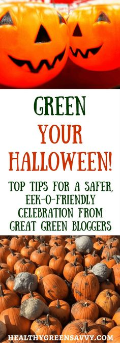 Green Your Halloween