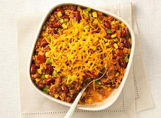 Mexican Rice with Cheddar - Recipes Mexican Food Names, Mexican Rice Recipes, Mexican Dishes, All U Can Eat, College Cooking, Rice Ingredients, Eating Light, Potato Dishes, Dinner Is Served