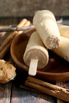 Dulce de Leche Paletas with Cinnamon and Vanilla Beans by @Heather Creswell Schmitt-Gonzalez