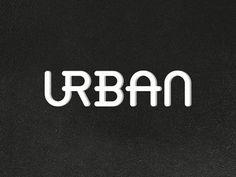 urban | typography