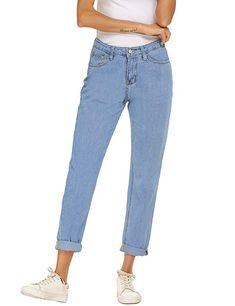 09252e68d397ad Premium denim boyfriend jeans are the stylish essential for any season.