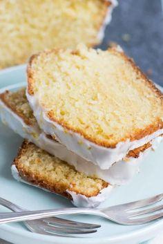 Saftig und lecker - Zitronenkuchen mit Joghurt