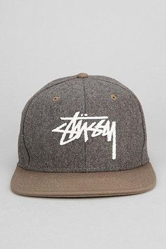 Stussy Two-tone Wool Snapback Hat $29.00 - Buy it here: https://www.lookmazing.com/stussy-two-tone-wool-snapback-hat/products/5991330