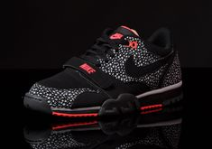 ced088bfc Nike Air Trainer 1 Low ST Black Safari New Detailed Pictures