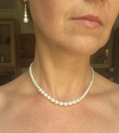 """CLASSIC MOTHER OF THE BRIDE PEARL JEWELRY SET """"GRACE"""" – She Rocks bridal jewellery"""