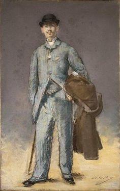 Édouard Manet - Portrait de René Maizeroy