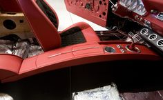 camaro custom consoles | Custom console is complete in the 1966 Mustang.