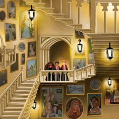 Gallery Wall, Stairs, Day, Painting, Instagram, Character, Ladders, Stairway, Painting Art