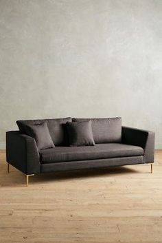 Linen edlyn sofa| Anthropologie