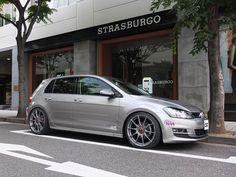"Formula HLT 19"" OZ Wheel on Golf 7."
