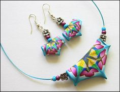 polymer clay, fimo, sculpey, buttons   polymer clay floral arrangements Polymer clay jewelry...my style and ...
