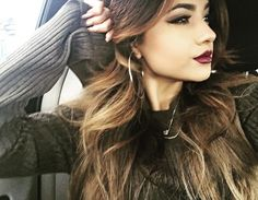 If I could look like anyone in the world,I would look like Becky G.!!!!!!!!!She's so pretty