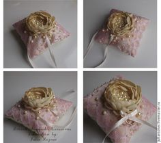 Изготовление подушечки для колец - Ярмарка Мастеров - ручная работа, handmade