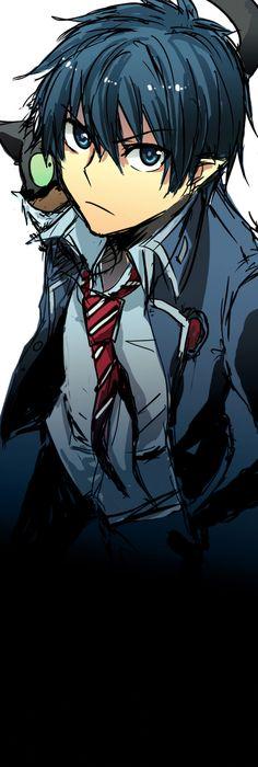 Rin Okumura - Ao no Exorcist / Blue Exorcist Ao No Exorcist, Blue Exorcist Anime, Awesome Anime, Anime Love, Anime Guys, Rin Okumura, Manga Anime, Anime Art, Fangirl