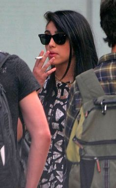 Uh-oh. Madonna's 15-year-old daughter was caught smoking...