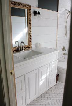 Hi Sugarplum   Big Box Bathroom Remodel, Day 4