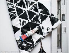 ikea hack 10 minute fabric book slings