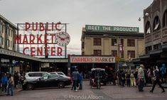 Pike Place Market is a Seattle tradition. Of the over 500 shops, my favorite is the fishmongers who throw customers fish before it is wrapped.