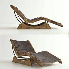 Wine Barrel Project Chaise
