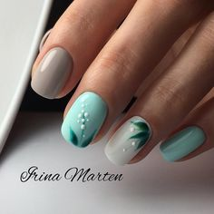 Are you looking for a trend for short nails in Are you struggling to make good-looking manicures without long nails? Shellac Nails, Pedicure Nails, Acrylic Nails, My Nails, Pedicure Ideas, Nail Art Fleur, Nagellack Trends, Nagel Gel, Stylish Nails