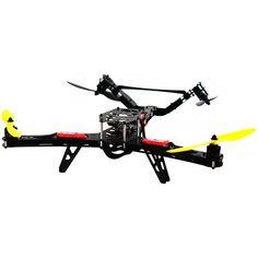 Lynxmotion Hunter VTail 500 Drone (T-Motor Combo Kit + MultiWii Flight Controller) - RobotShop
