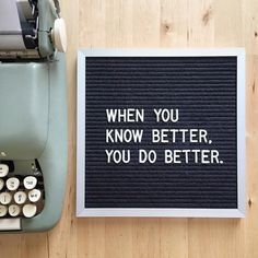 You know? #mayaangelou #letterfolkquotes Letterboard by letterfolk.com