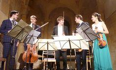 Raphaël Sévère, Christian Pierre La Marca, David Petrlik, Adrien La Marca et Liya Petrova ont  donné le magnifique quintette de Brahms avec clarinette en si mineur