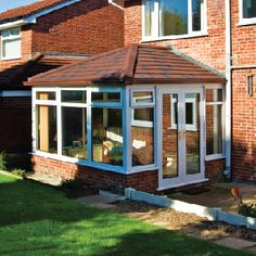 Want a roof replacement for your conservatory? Contact the professionals at Coretech for quality conservatory roof solutions at lowest prices. Garden Room Extensions, House Extensions, Conservatory Roof, New Home Wishes, Sweet Home, Shed, New Homes, Home And Garden, Outdoor Structures