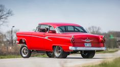 1956 Ford Customline Gasser - 3 - Print Image