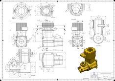 Tutorial available on my another board of SolidWorks and Creo Parametric. Sketch Design, 3d Sketch, Design Model, Mechanical Engineering Design, Mechanical Design, Autocad, 3d Drawings, Technical Drawings, Cad Engineer