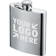Zippo 8 Oz. Hip Flask Corporate Gift Baskets, Corporate Gifts, Flask, Barware, Stuff To Buy, Bottle, Glas