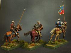 Xulutec : Burgundian Light Horse - finished