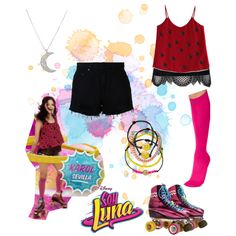 soy luna by maria-cmxiv on Polyvore featuring polyvore, fashion, style, Chicwish, Diane Von Furstenberg, Nobody Denim, Pretty Polly, Boohoo, Carole and Finn