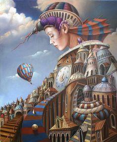 surrealismo magico pintura - Google Search